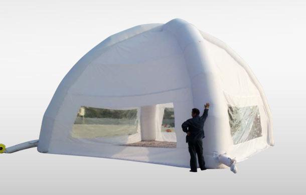aufblasbar pavilion aufblasbarer pavillon f r kleinere. Black Bedroom Furniture Sets. Home Design Ideas